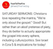 Saturday Sermons, 9/26/20