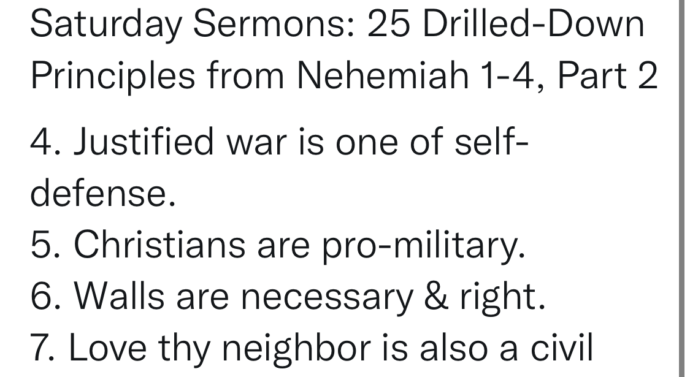 Saturday Sermons: 25 Drilled-Down Principles from Nehemiah, Part 2