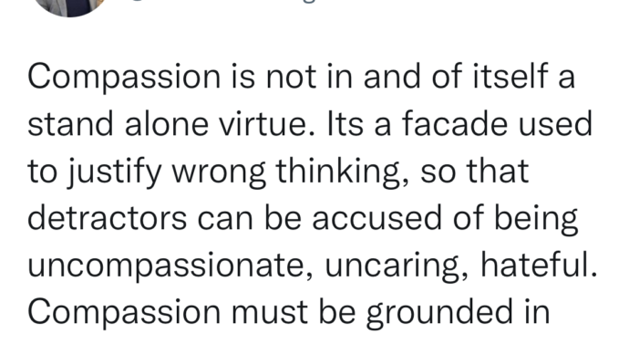Ep. 119 9.7.21 Compassion Must Be Grounded in Truth